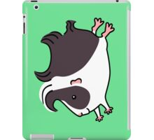 Leaping Guinea-pig ... Black and White  iPad Case/Skin