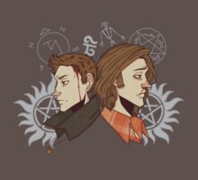 Winchester Brothers (bloody version) by PotatoCrisp