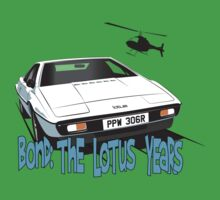 Lotus Esprit Series 1.  The Bond model Baby Tee