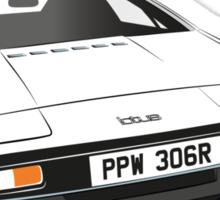Lotus Esprit Series 1.  The Bond model Sticker