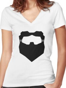 This Is The Darkest Timeline Women's Fitted V-Neck T-Shirt