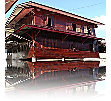 Pictures house like a ship found in the application of architecture admirable Photographic Print
