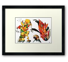 Fingers of the Flames Framed Print