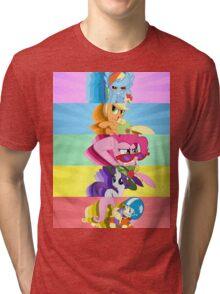 BAMF Ponies Tri-blend T-Shirt