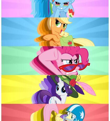 BAMF Ponies Sticker