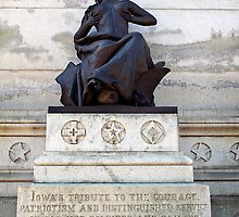 Iowa's Tribute Her Forces of the Rebellion by Paul Barnett