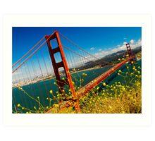 Golden Gate  Art Print