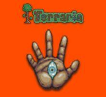 Terraria Moon Lord Hand Kids Tee