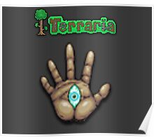 Terraria Moon Lord Hand Poster