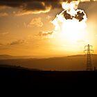 Mountain Sunset by AlexanderJones