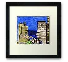 Holiday Rush Framed Print