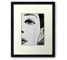 the hours Framed Print