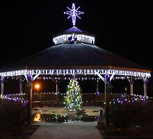 Christmas Gazebo by MarquisImages