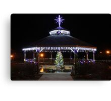 Christmas Gazebo Canvas Print