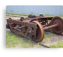 rusty track Canvas Print