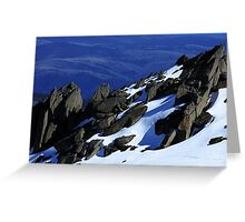 Rams Head Peak Greeting Card
