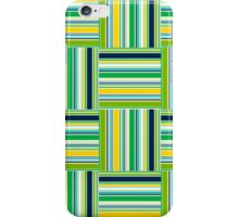 Fancy Green Plaid iPhone Case/Skin