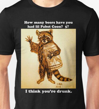 Pabst Coon Unisex T-Shirt