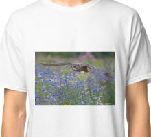 Eagle owl flying Classic T-Shirt