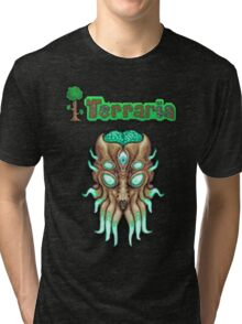 Terraria Moon Lord Head Tri-blend T-Shirt