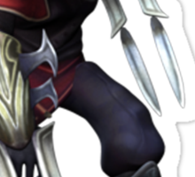 Zed - The Master Of Shadows Sticker