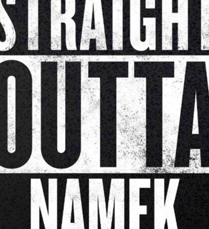 Straight Outta Namek - Dragon Ball Z Piccolo Sticker