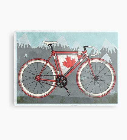 Love Bike, Love Canada Metal Print