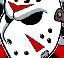 Crystal Lake Ice Hockey Sticker