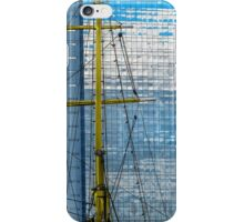 Buenos Aires - Sails and the sky's reflections iPhone Case/Skin