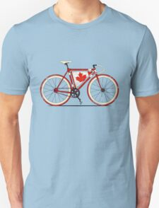 Love Bike, Love Canada Unisex T-Shirt