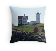 Cape Neddick / Nubble Light Throw Pillow