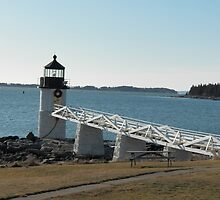Marshall Point Lighthouse 2 by MarquisImages