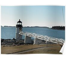 Marshall Point Lighthouse 2 Poster