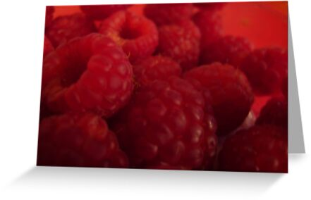 Razzle Dazzle Raspberries by MarianBendeth