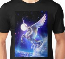 Night flight Unicorn Unisex T-Shirt