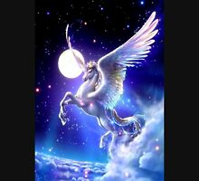 Night flight Unicorn Unisex T-Shirt