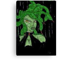 Digital Medusa Canvas Print