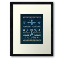 Shiny Sweater Framed Print