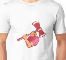 Lumberjack Axe Woodcut Unisex T-Shirt
