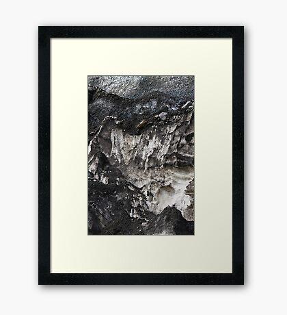 Athabasca Glacier .4  Framed Print