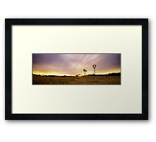 Elements Framed Print