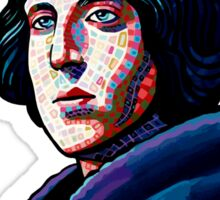 One must wear Oscar Wilde Sticker