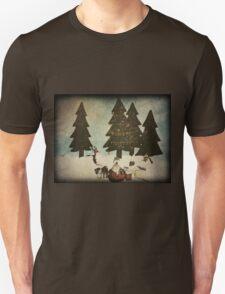 Merry Christmas (textured) T-Shirt