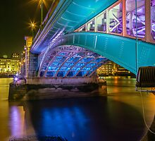 Southwark Bridge by JzaPhotography