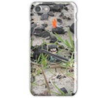 LEGO Mini Soldier in the Field of Battle iPhone Case/Skin