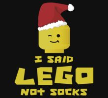 I SAID ....., NOT SOCKS by Customize My Minifig by ChilleeW