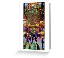 Christmas At The Rock Greeting Card