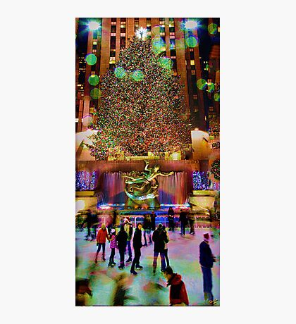 Christmas At The Rock Photographic Print