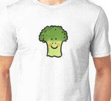 Cute veggie broccoli cartoon Unisex T-Shirt