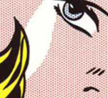 Pop Art Roy Lichtenstein Sticker